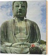 Kamakura Daibutsu Wood Print
