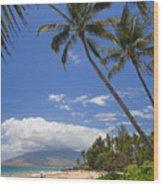 Kamaole Beach Wood Print