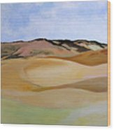 Kamiak Butte Wood Print