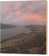 Kamloops Lake British Columbia Canada Wood Print