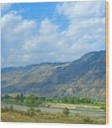 Kamloops  Wood Print