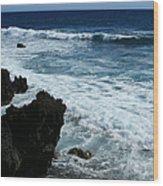 Kanaio Ahihi Kinau Maui Hawaii Wood Print