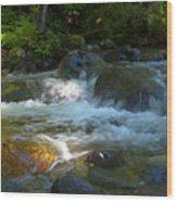 Kanaka Creek Wood Print