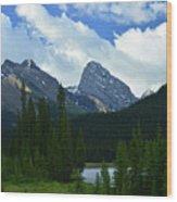 Kananaskis Trail Wood Print