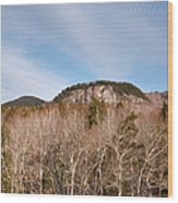 Kancamagus Highway - White Mountains New Hampshire - Rocky Cliff Wood Print