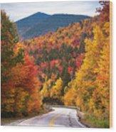 Kancamagus Highway Wood Print