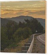 Kancamagus Highway - New Hampshire Usa Wood Print