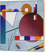 Kandinsky II Wood Print