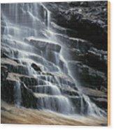 Kane Falls Wood Print
