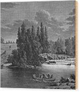 Kane: White Mud Portage Wood Print