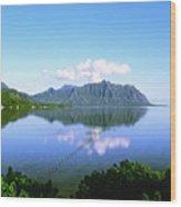 Kaneohe Bay Wood Print