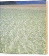 Kaneohe Sandbar Wood Print