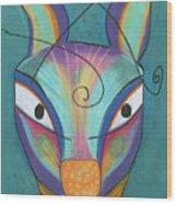 Kanga Wood Print