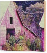 Kansas Country Wood Print