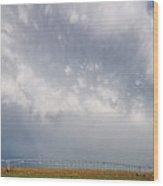 Kansas Double Rainbow Wood Print