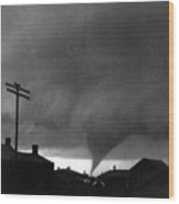 Kansas: Tornado, C1902 Wood Print
