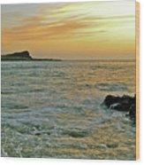 Kaohikaipu Island Sunrise  658 Wood Print