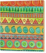 Kapa Patterns 10 Wood Print