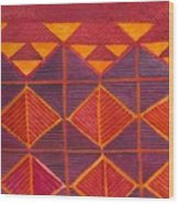 Kapa Patterns 6 Wood Print