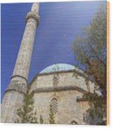 Karadoz Bey Mosque, Mostar, Bosnia And Herzegovina Wood Print