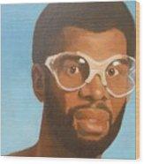 Kareem Wood Print