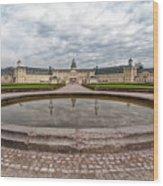 Karlsruhe Palace View Wood Print