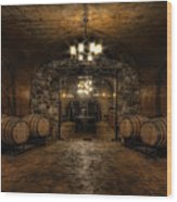 Karma Winery Cave Wood Print