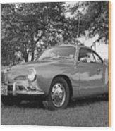 Karmann Ghia Coupe I I Wood Print
