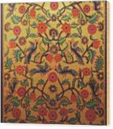 Kashmir's Kashida Wood Print