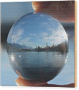 Kaslo Through The Looking Glass Wood Print