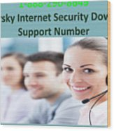 Kaspersky Internet Security Download Support Number Wood Print