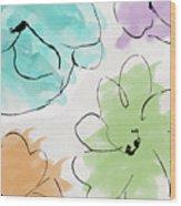 Kasumi Wood Print