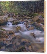 Katahdin Stream Wood Print