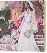 Kate The Princess Bride Wood Print