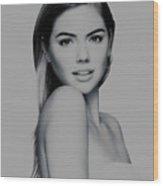 Kate Upton 17 Wood Print
