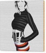 Kate Upton Wood Print