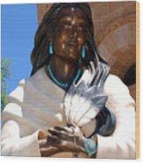 Kateri Tekakwitha Santa Fe Wood Print
