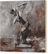 Kathak Dancer A1 Wood Print