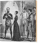 Katharina Kepler, Alleged German Witch Wood Print