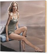 Kathrin Werderitsch Wood Print