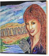 Kathywood Wood Print