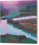 Katka Overlook Wood Print