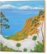 Kauai Hawaii Wood Print