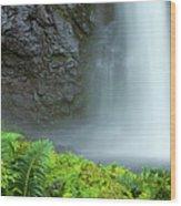 Kauai Inland Falls Wood Print