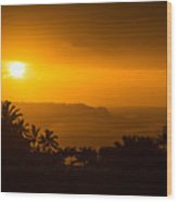 Kauai North Shore Wood Print