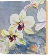 Kauai Orchid Festival Wood Print