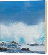 Kauai Waves Wood Print