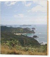 Kauri Cliffs Golf 2 New Zealand Wood Print