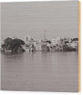 Kauveri Cityscape Wood Print