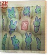Kawaii Hatchery Wood Print